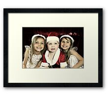 We Are Ready For Christmas! Framed Print