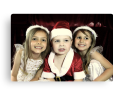 We Are Ready For Christmas! Canvas Print