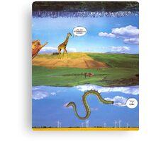 M Blackwell - Layerland 1: What a Dork Canvas Print