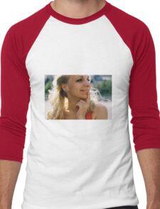 Pink Femininity 2 Men's Baseball ¾ T-Shirt