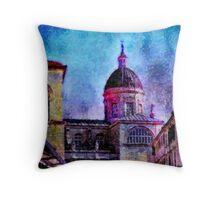 Dubrovnik Dome Throw Pillow
