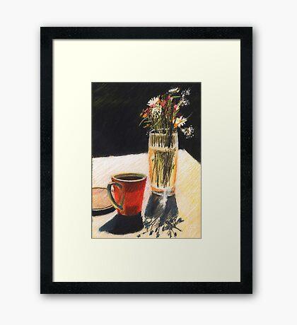 Wasserglas Framed Print