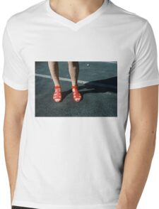Pink Femininity 3 Mens V-Neck T-Shirt