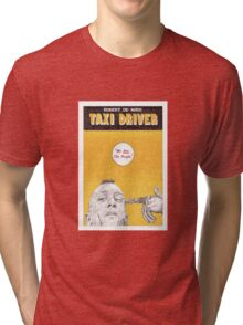 TAXI DRIVER hand drawn movie poster in pencil Tri-blend T-Shirt