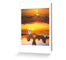 M Blackwell - Layerland 2: Saluting Four Sunrises Greeting Card