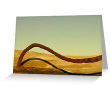 Dune Surfer Greeting Card