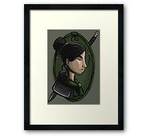 Mulan's Duty Framed Print