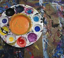 My palette by Farrah Garland
