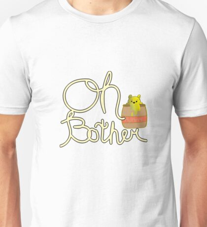 """Winnie the Pooh """"Oh Bother"""" Unisex T-Shirt"""