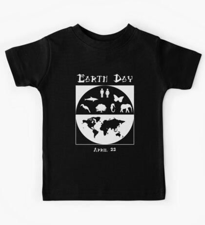 Earth Day 3 Kids Tee
