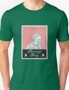 ROSEMARYS BABY hand drawn movie poster in pencil Unisex T-Shirt