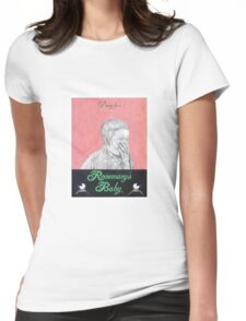 ROSEMARYS BABY hand drawn movie poster in pencil Womens Fitted T-Shirt