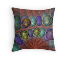 Undergrowth Throw Pillow