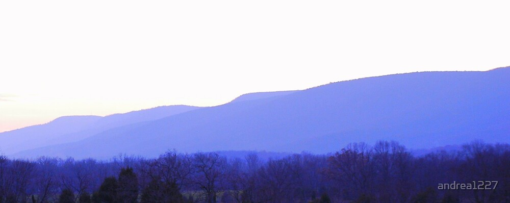 Blue Ridge Mountains by andrea1227