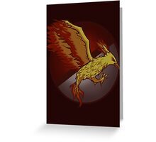 Catching the Fire Greeting Card