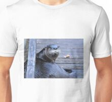 North American River Otter ( Lontra,canadensis) Unisex T-Shirt
