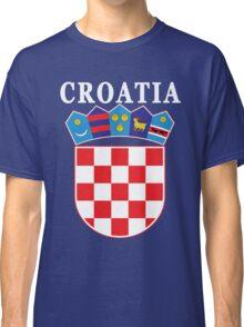 Croatia Deluxe Football Jersey Design Classic T-Shirt