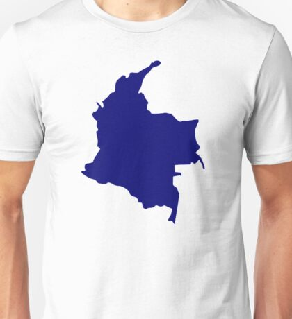 Colombia map Unisex T-Shirt