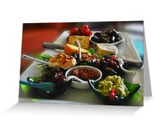 Gourmet Delights Greeting Card