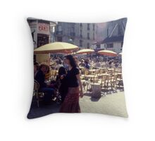 Place St Michel Throw Pillow