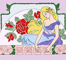 The Sleeping Beauty by redqueenself