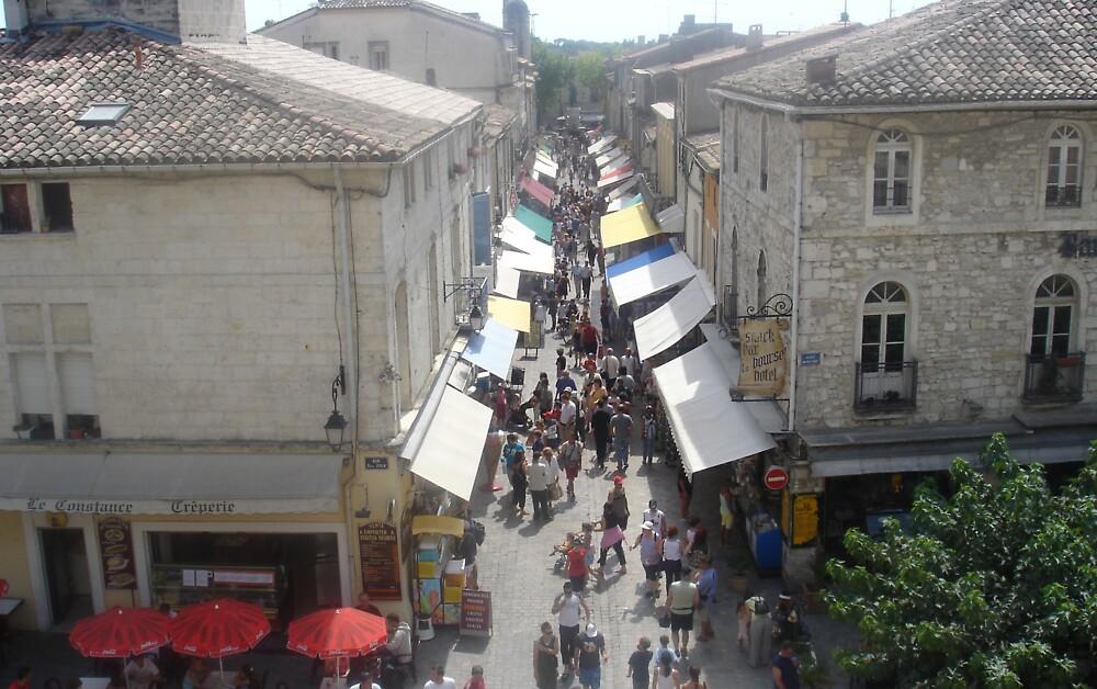 Street scene by Mick Milloy