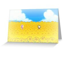 Sunflower Fields - Mother 3 Greeting Card
