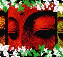 buddhafaces Sticker