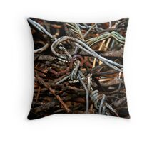 Magpies Nest Throw Pillow