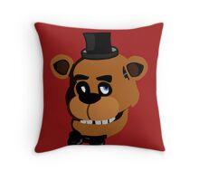 Five Nights At Freddy's Freddy Fazbear Throw Pillow