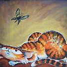 Butterfly Eyes - Art by TET by etourist