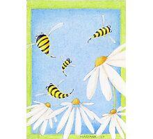 Bee Happy! Photographic Print