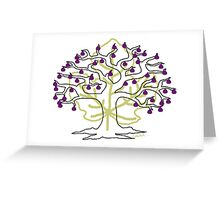 50 Figs on Tree Greeting Card
