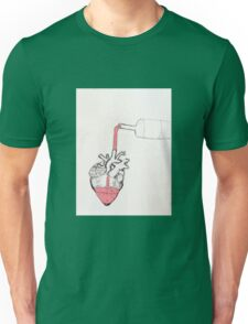 drown love in alcohol Unisex T-Shirt