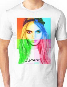 Cara Delevingne pencil portrait 3 Unisex T-Shirt