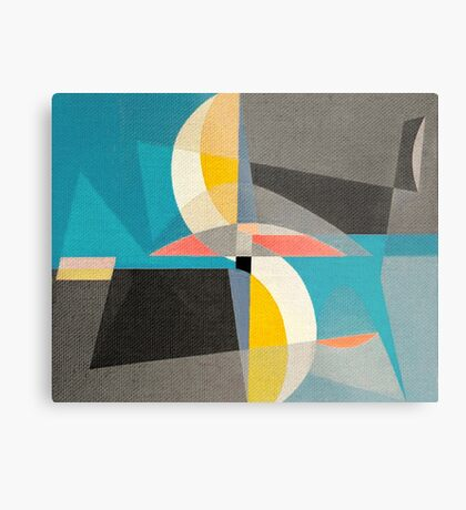 Sailing on the Canal Metal Print