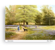 Bluebell Girls Canvas Print