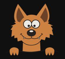 Funny cute Freaky Fox One Piece - Long Sleeve