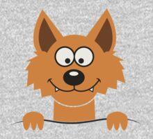 Funny cute Freaky Fox Baby Tee