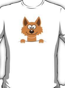 Funny cute Freaky Fox T-Shirt