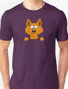 Funny cute Freaky Fox Unisex T-Shirt
