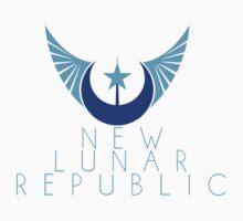 New Lunar Republic Crest Kids Tee