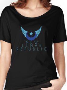 New Lunar Republic Crest Women's Relaxed Fit T-Shirt