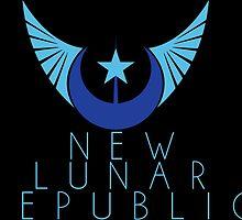 New Lunar Republic Crest by holycrow