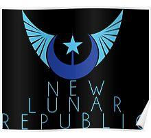 New Lunar Republic Crest Poster