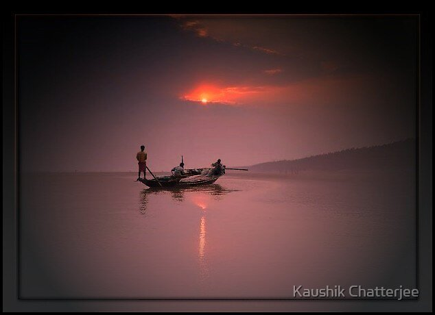 Evening by Kaushik Chatterjee