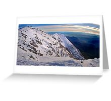 Frenchmans Panorama, Mt Buller Greeting Card
