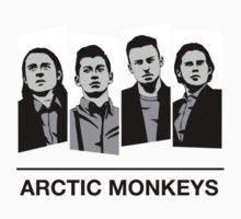 Arctic Monkeys [Desaturated] by Sean Nguyen