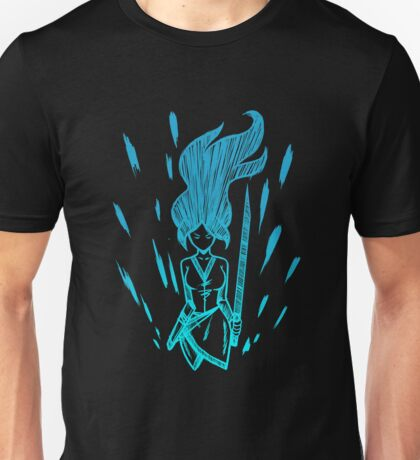 Ninja Focus - Artic Blue Unisex T-Shirt