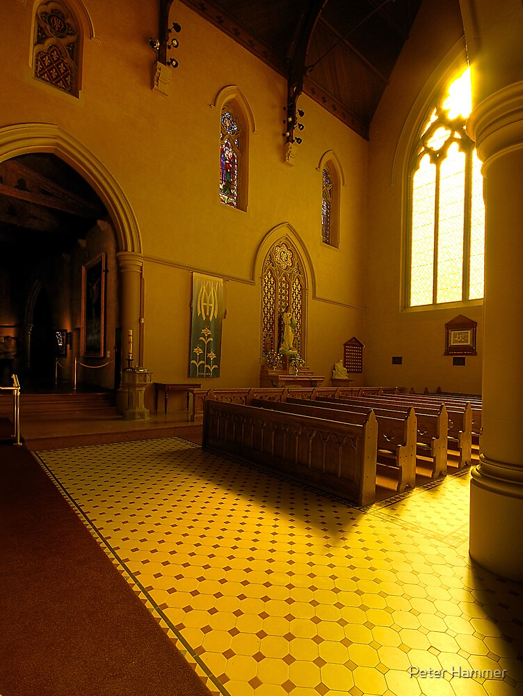 Altar - St Mary's Basilica by Peter Hammer